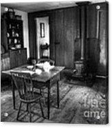 Old Kitchen Acrylic Print by Kathleen Struckle