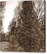Old North Church And Paul Revere Acrylic Print by Joann Vitali