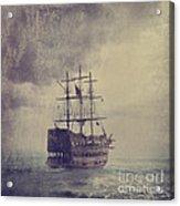 Old Pirate Ship Acrylic Print by Jelena Jovanovic