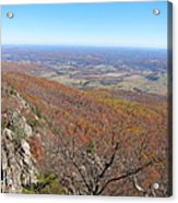 Old Rag Hiking Trail - 121234 Acrylic Print by DC Photographer