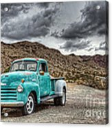 Old Reliable Acrylic Print by Eddie Yerkish