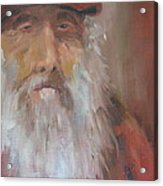 Old Salt Christo At 80 Acrylic Print by Susan Richardson