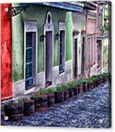 Old San Juan Puerto Rico Acrylic Print by Thomas R Fletcher