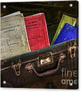 Old School Days Acrylic Print by Kaye Menner