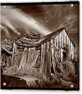Old Shack Bodie Ghost Town Acrylic Print by Steve Gadomski