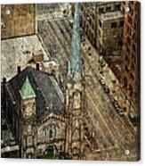 Old Stone Church Acrylic Print by Dale Kincaid