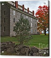 Old Stone House Acrylic Print by Charles Kozierok