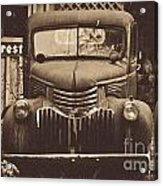 Old Times Acrylic Print by Alana Ranney