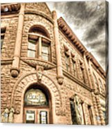 Old Town Sandstone Acrylic Print by JulieannaD Photography