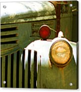 Old Truck Abstract Acrylic Print by Ben and Raisa Gertsberg