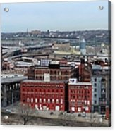 Old West Bottoms Kcmo Acrylic Print by Liane Wright