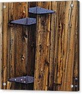 Old Wood Barn Acrylic Print by Garry Gay