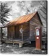 Olden Days Acrylic Print by Debra and Dave Vanderlaan