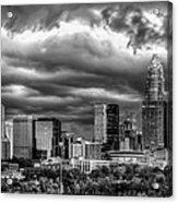Ominous Charlotte Sky Acrylic Print by Chris Austin
