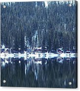 On Donner Acrylic Print by Donna Blackhall