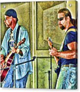 On Stage Acrylic Print by Kenny Francis