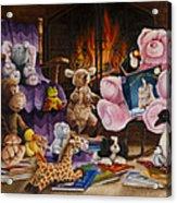 On The Night You Were Born Acrylic Print by Cheryl Allen