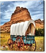 On The Oregon Trail 3 Acrylic Print by Mel Steinhauer