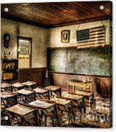 One Room School Acrylic Print by Lois Bryan