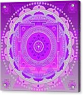 Oneness And Unity Acrylic Print by Sarah  Niebank