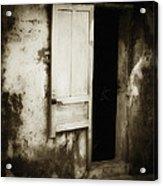 Open Door Acrylic Print by Skip Nall