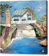 Opera By The Sea Acrylic Print by Jan Moore