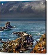 Oregon Coast Acrylic Print by Robert Bales