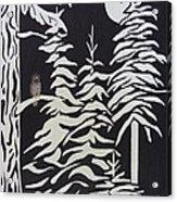 Oregon Forest Acrylic Print by Estephy Sabin Figueroa