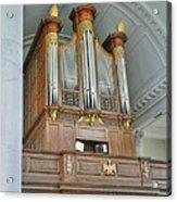 Organ At Westminster Acrylic Print by David Bearden