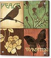 Organic Nature 1 Acrylic Print by Debbie DeWitt