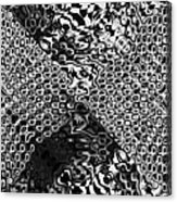Organic Optical Illusion 8 Acrylic Print by The Art of Marsha Charlebois