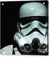 Original Stormtrooper Acrylic Print by Micah May