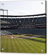 Oriole Park At Camden Yards Acrylic Print by Darleen Stry