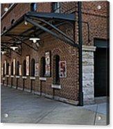Oriole Park Box Office Acrylic Print by Susan Candelario
