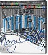 Orlando Magic Acrylic Print by Joe Hamilton