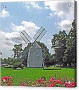 Orleans Windmill Acrylic Print by Barbara McDevitt
