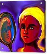 Oshun -goddess Of Love Acrylic Print by Carmen Cordova