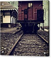 Other Side Of The Tracks Acrylic Print by Edward Fielding