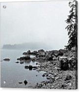 Otter Cliffs Acrylic Print by Joann Vitali