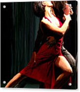 Our Tango Acrylic Print by James Shepherd