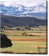 Ouray County Acrylic Print by Eric Glaser