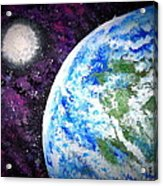 Out Of This World Acrylic Print by Daniel Nadeau