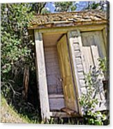 Outhouse For Two Acrylic Print by Sue Smith
