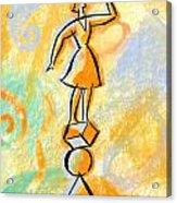 Outlook Acrylic Print by Leon Zernitsky