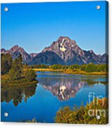 Oxbow Bend II Acrylic Print by Robert Bales
