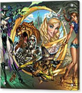 Oz 01a Acrylic Print by Zenescope Entertainment