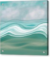 Pacific Paradise Acrylic Print by Bonnie Bruno