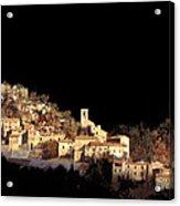 Paesaggio Scuro Acrylic Print by Guido Borelli