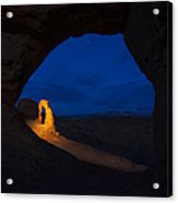 Painted Arch Acrylic Print by Dustin  LeFevre
