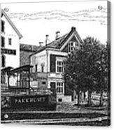 Pakkhuset Acrylic Print by Janet King